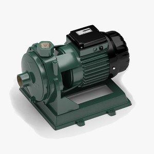 horizontal centrifugal pump 3D