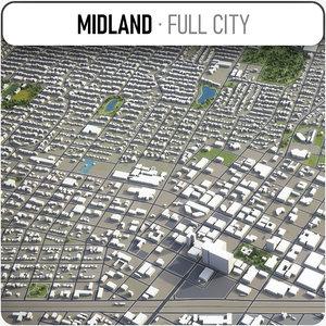 midland 3D model