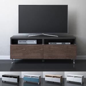 3D ikea besta tv unit