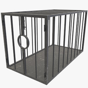 slave cage 3D model