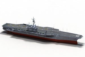 uss forrestal cv-59 model