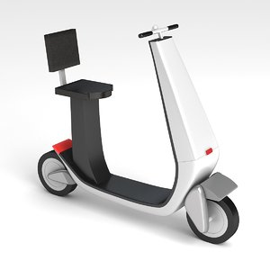 mobility scooter 2 3D