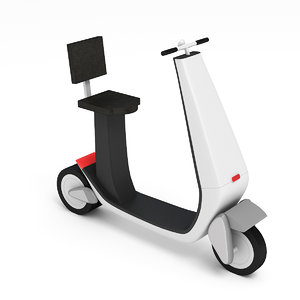 mobility scooter 3D model