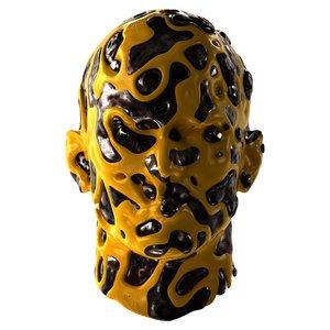 3D chaos head