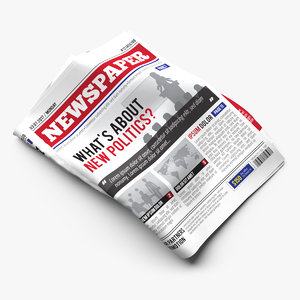 newspaper scenes model