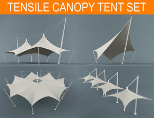3D canopy tent