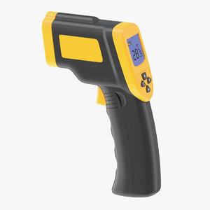 digital infrared laser 3D model