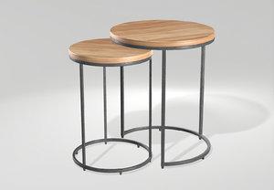 sofa tables 3D model