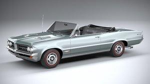 pontiac gto 1964 3D model