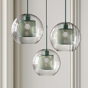 pendant lights catch lamp 3D model