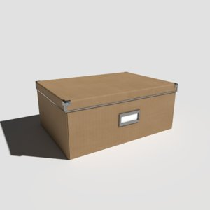 pbr office box 3D model