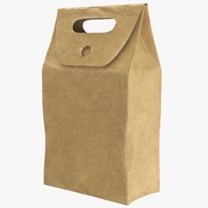 paper bag 3D