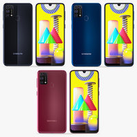Samsung Galaxy M31 3 Colors