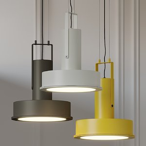 arne domus led pendant light 3D model
