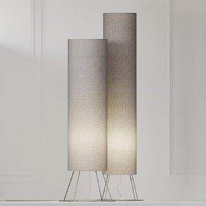floor lamp adriani e 3D