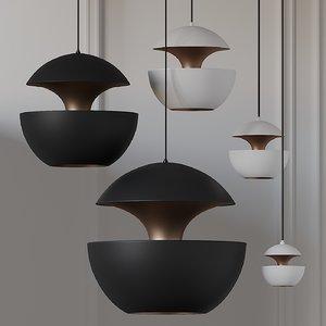 3D ceiling pendant model
