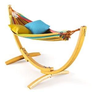 apollo hammock stand 3D