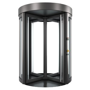 geryon revolving doors 3D model