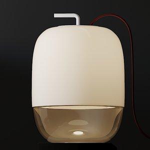 table lamps prandina gong model