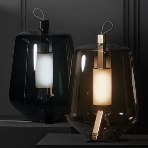 table lamps luisa gauzak 3D