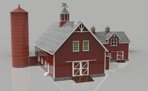 modern cozy house 3D