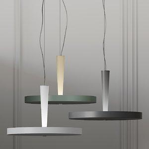 ceiling prandina equilibre 3D model