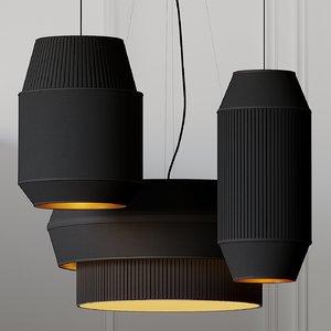 3D ceiling lights rich brilliant
