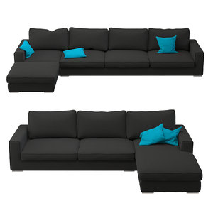 3D sofa sectional