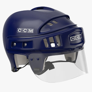 3D model ccm helmet laying