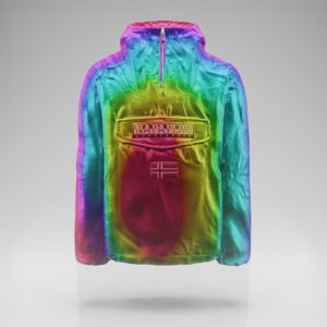 3D rainforest jacket model