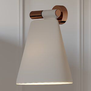 sconce b lux cone 3D model