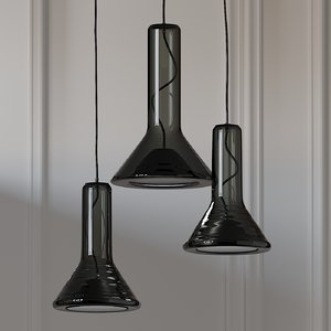 3D ceiling lights brokis whistle
