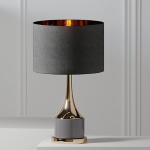 table lamps artistic home 3D