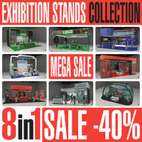Exhibition Expo Stands Collection 8in1