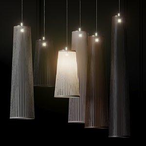 3D ceiling pablo solis pendant lamp