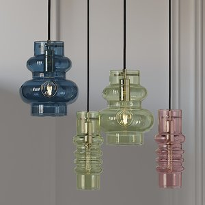 ceiling balloon lamp small 3D model