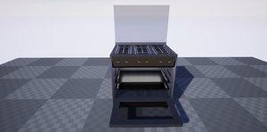 3D modular stove