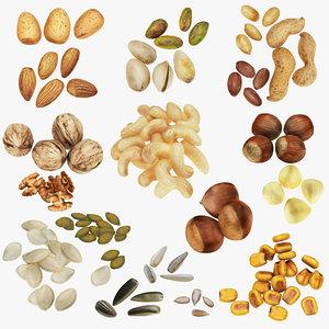 3D model nut