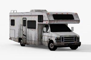 3D motorhome 01 cars