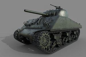 sherman m4a3 model