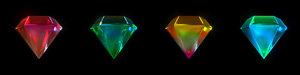 animation crystal 3D model