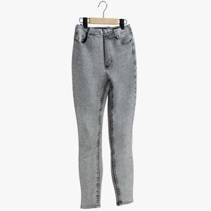 3D realistic jeans hanger 3