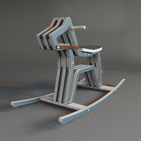 Rocking chair Mustang