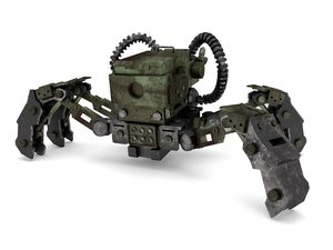 b mech spy 3D model