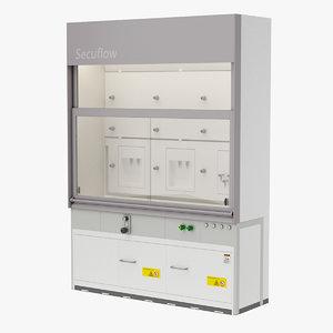 laboratory fume hood model