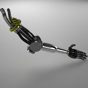 3D prosthetic arm