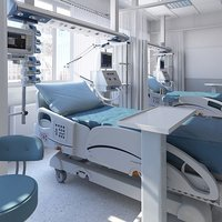 Medical Patient Room 5