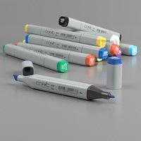 Copic Markers Classic 12pc Color Set