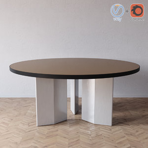 3D morgan table minotti