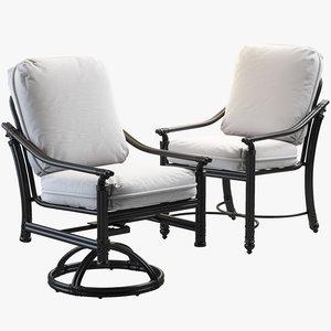 coco isle chairs 3D